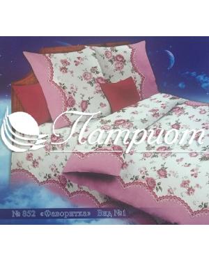 КПБ 1.5 спальный Фаворитка, набивная бязь 142 гм2 852-1