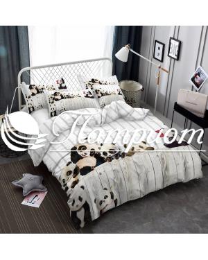 КПБ 2.0 спальный с Евро простыней, поплин 1750
