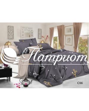 КПБ 2.0 спальный с Евро простыней, поплин 66 (80м)