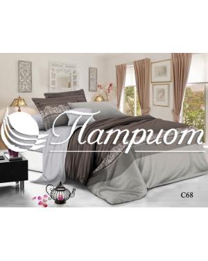 КПБ 2.0 спальный с Евро простыней, поплин 68 (80м)